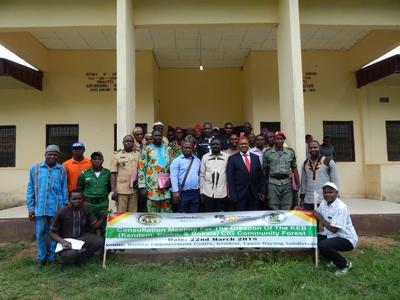 Upper Bayang Villages Endorse KEB CIG Community Forest Creation