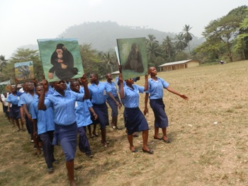 Wabane students declare commitment to be ambassadors of conservation