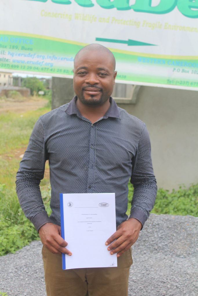 CEO of Green Impact, AWOUNANG Michel